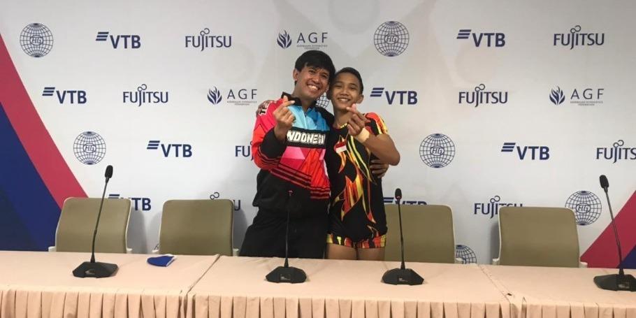 Всемирные соревнования по аэробной гимнастике в Баку прекрасно организованы – спортсмен из Индонезии