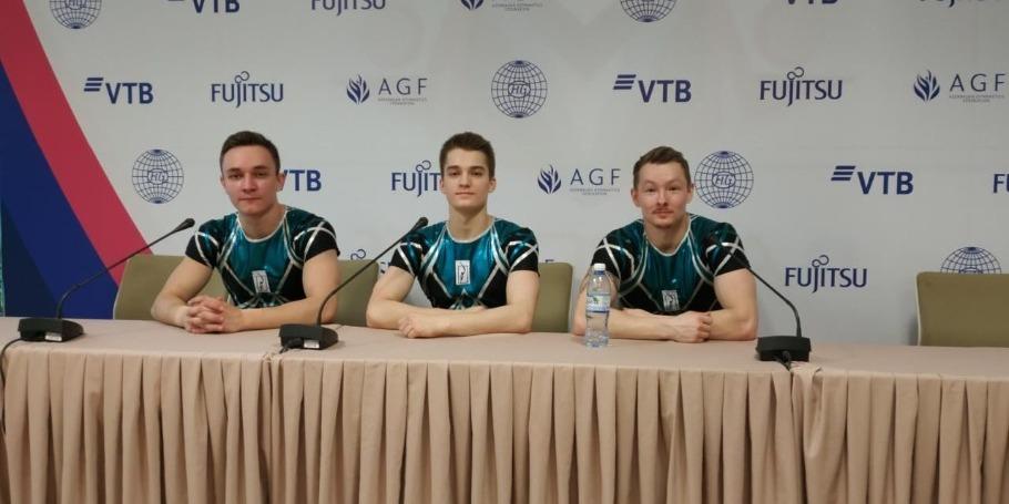 Bakıda aerobika gimnastikası üzrə dünya çempionatı yüksək səviyyədə keçir - Rusiyalı gimnastlar