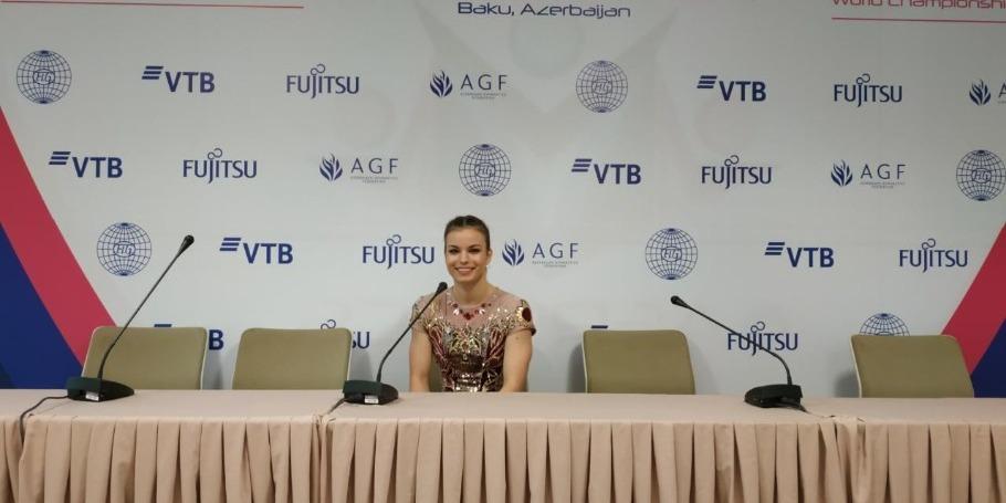 Организация ЧМ по аэробной гимнастике в Баку просто фантастическая – болгарская спортсменка