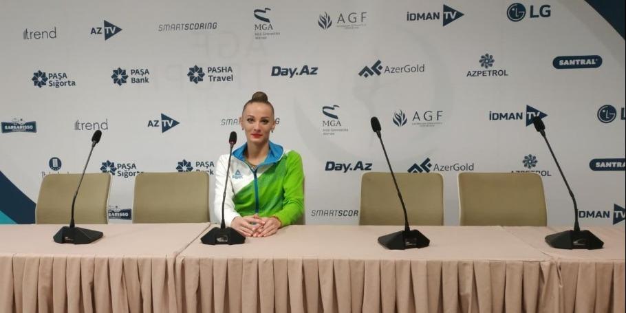 Bakıda yarışlar hər zaman ən yüksək səviyyədə keçir - Sloveniyalı gimnast