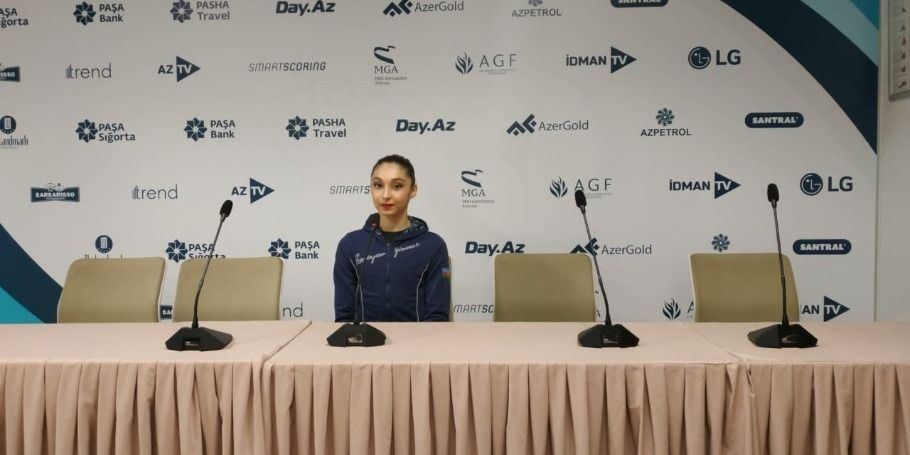 Difficulty of my exercises at World Cup in Baku higher than in two previous competitions - Azerbaijani gymnast Arzu Jalilova