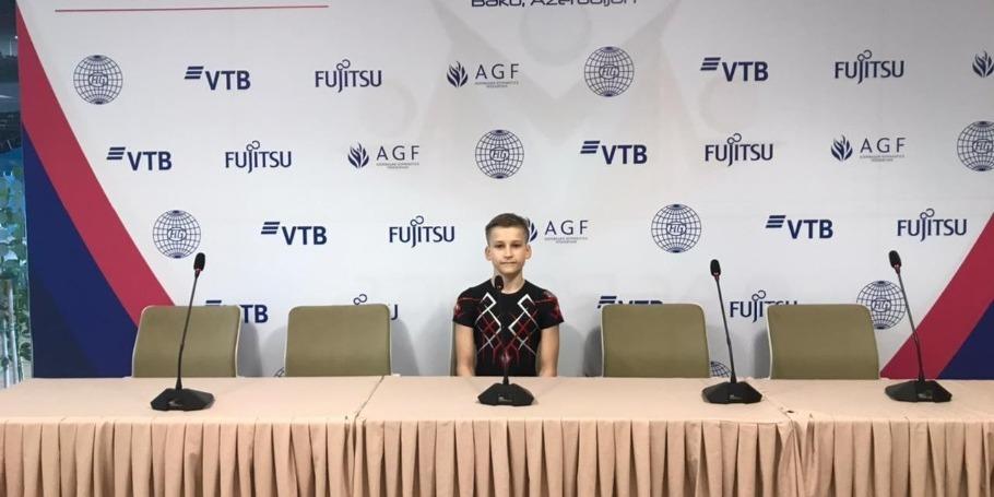 Выступать в Национальной арене гимнастики в Баку почетно и ответственно - спортсмен из Литвы