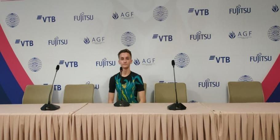 Dünya Yaş Qrupları yarışlarından təəssüratlarım çox gözəldir - Ukraynalı gimnast