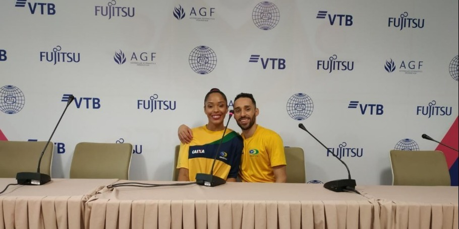 It is great happiness for us to come to Azerbaijan for World Championship - gymnasts from Brazil