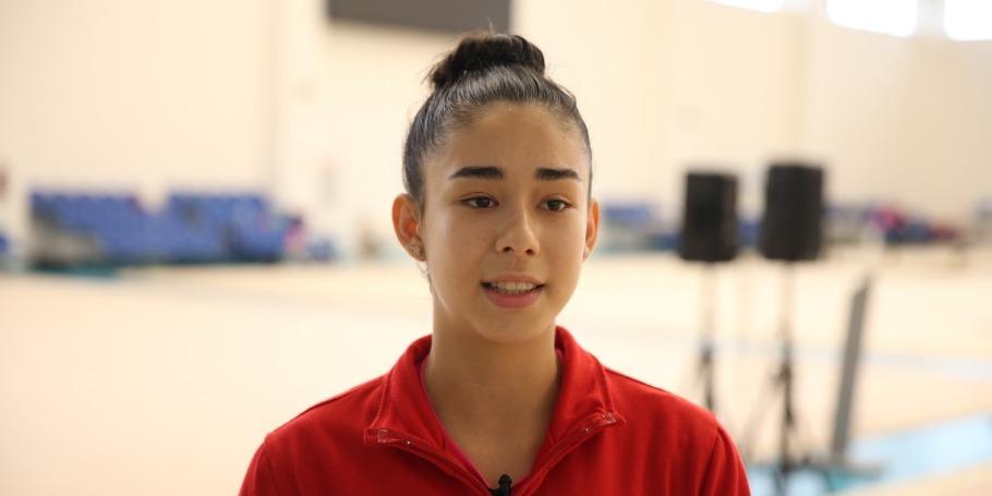 Milli Gimnastika Arenasında məşq etməyi çox sevirəm - Kosta-Rikalı gimnast