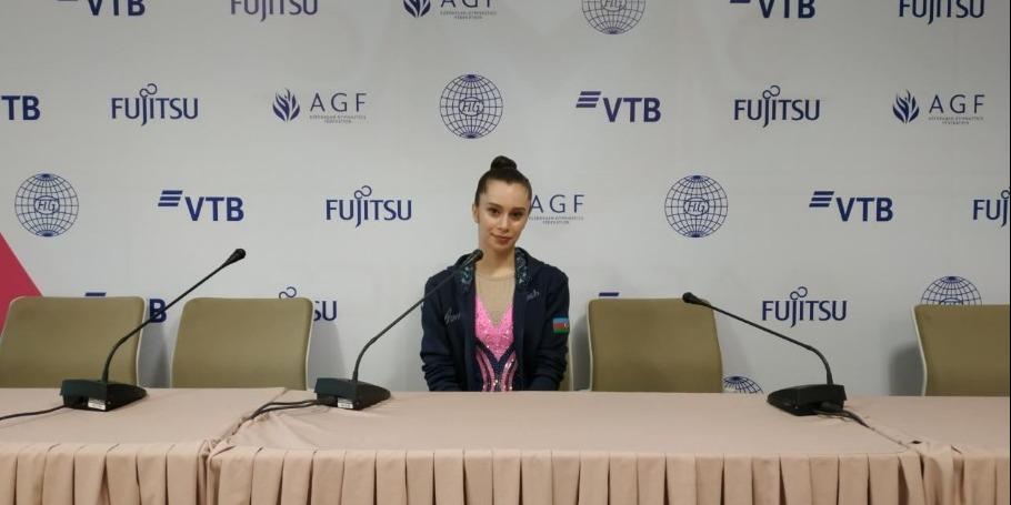Выступать на ЧМ в родном зале Национальной арены гимнастики – большое счастье – азербайджанская спортсменка