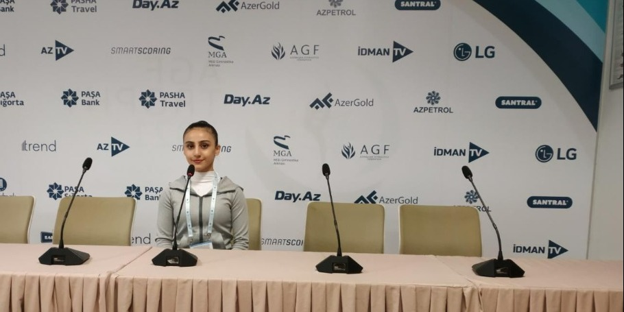 World Cup in Baku became one of my favorite competitions - Azerbaijani gymnast
