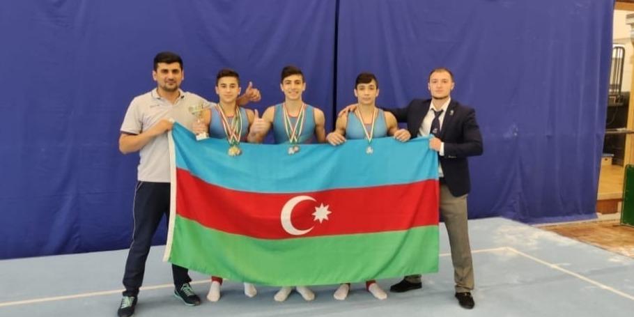 İdman gimnastlarımızdan medallarla zəngin həftəsonu