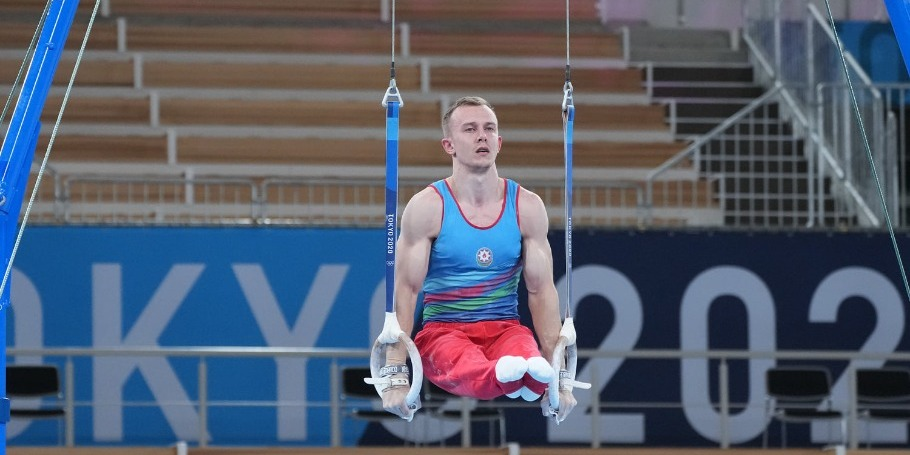 Ivan Tikhonov finishes the competition