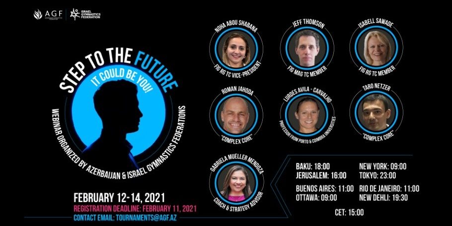 Совместный онлайн вебинар Федераций Гимнастики Азербайджана и Израиля