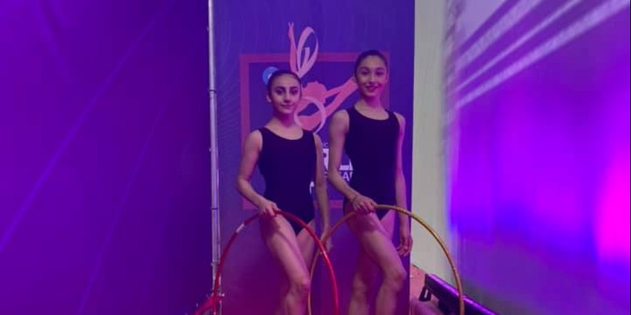 Our Rhythmic gymnasts participate in the World Cup