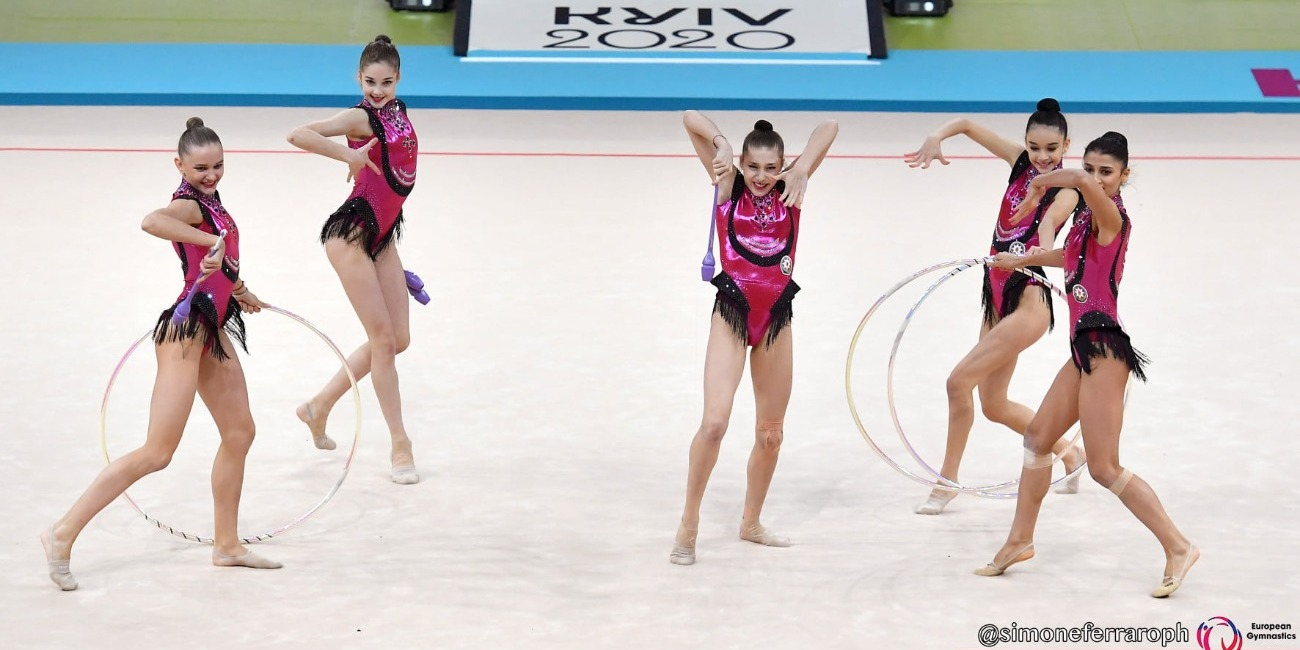 The Continental Championships of the Rhythmic gymnasts comes to an end