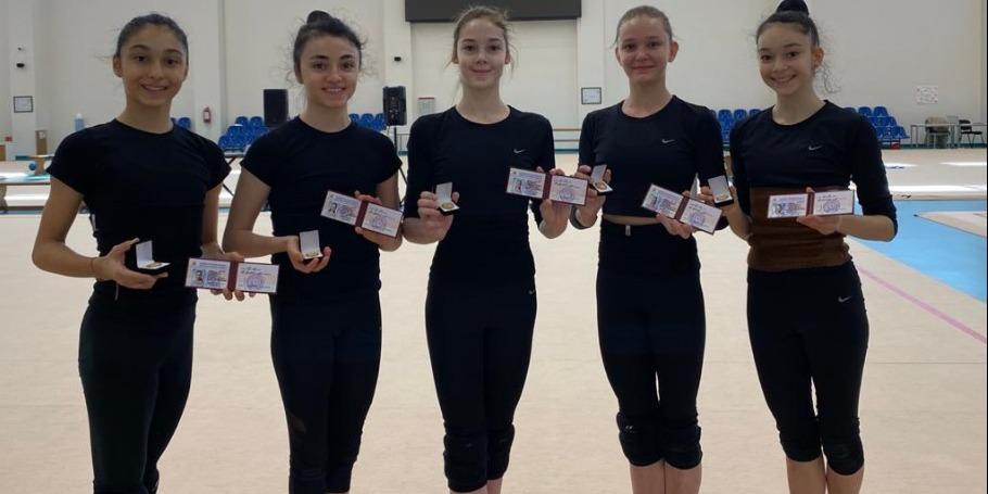 Еще несколько  гимнастов стали мастерами спорта