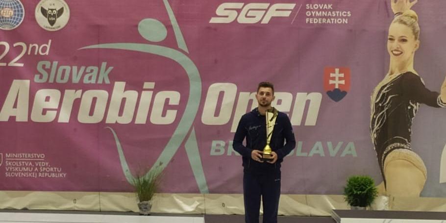 Silver medal from Dolmatov