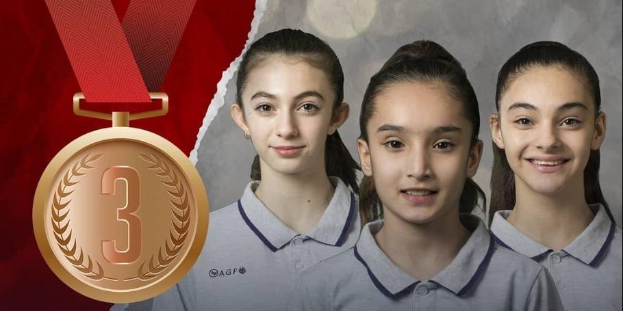 Dünya birinciliyinin ilk bürünc medalı