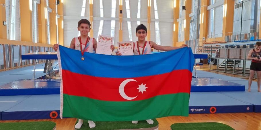 Yeniyetmə batutçularımızın Belarusda böyük uğuru