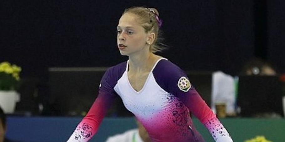 Gimnastımız Sloveniyada dünya kubokunda iştirak edib