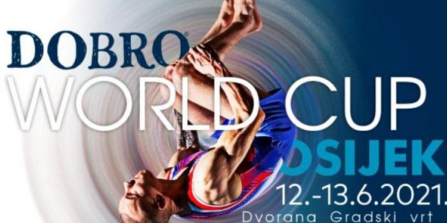 Наши гимнасты приняли участие на Кубке мира в Хорватии