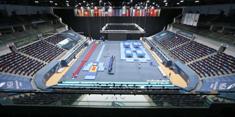 Milli Gimnastika Arenası növbəti dünya çempionatına hazırlaşır