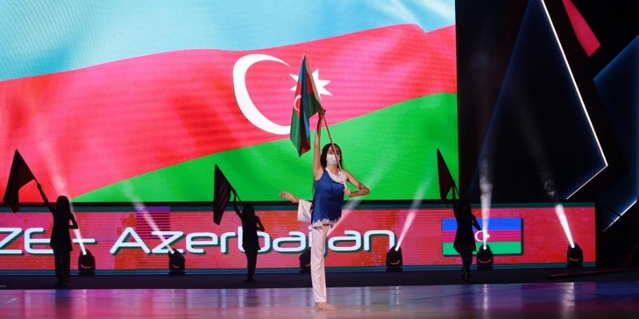 The 16th World Aerobic Gymnastics Championships kicks off in Baku