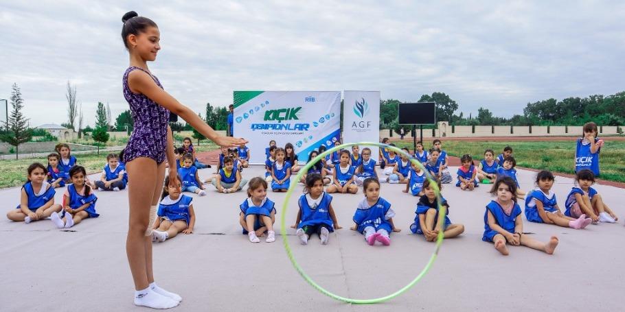Мастер-класс по художественной гимнастике в Хачмазе