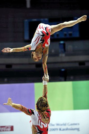 AZERBAIJANI ACROBATS WIN THE SECOND PLACE AT THE WORLD GAMES!