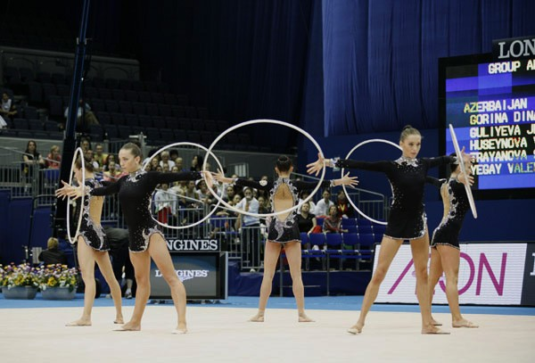 AZERI GROUP TEAM GAINED GOOD RESULT IN THE RHYTHMIC GYMNASTICS WORLD CHAMPIONSHIPS