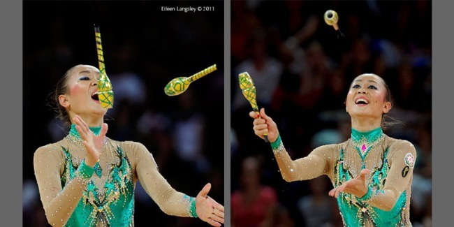 A gymnast Aliya Garayeva takes the 6th place in the final of the World Championships