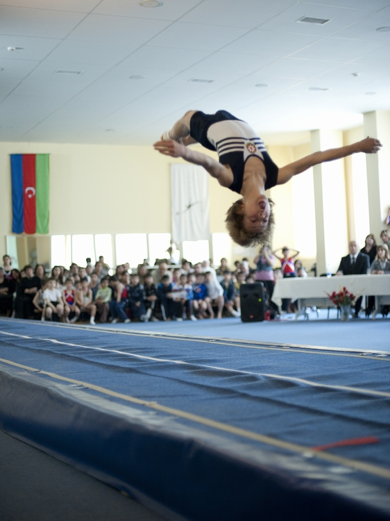 AN AZERBAIJANI TUMBLER MIKHAIL MALKIN BECOMES THE 7TH AT THE WORLD AGE GROUP COMPETITIONS IN BIRMINGHAM
