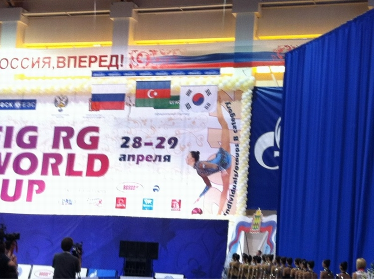 AN AZERBAIJANI GYMNAST BECOMES THE WINNER OF THE WORLD CUP IN RUSSIA!