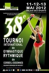 OUR GYMNAST BECOMES A PRIZE-WINNER IN FRANCE AGAIN