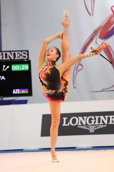 Aliyə Qarayeva Avropa Çempionatının bürünc medalını qazanıb