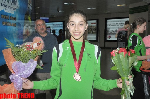 AZERBAIJANI GYMNASTS SUCCESSFULLY PERFORMED AT THE EUROPEAN CHAMPIONSHIPS COME BACK TO BAKU