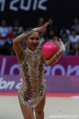 Azərbaycan gimnastı Aliyə Qarayeva Olimpiadanın finalında!