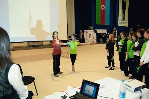 INTERNATIONAL GYMNASTICS FEDERATION'S ACADEMY RUNS COURSES FOR COACHES IN AZERBAIJAN FOR THE FIRST TIME