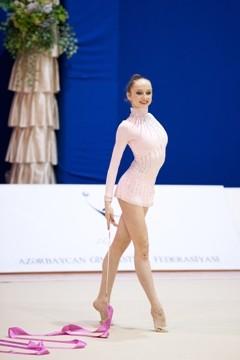 Azərbaycan gimnastları Riqada beynəlxalq turnirdə yeddi medal qazanıblar