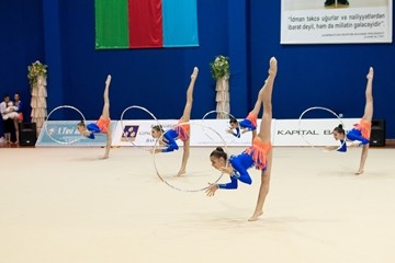 Junior group - the bronze medalist of the international tournament in Italy
