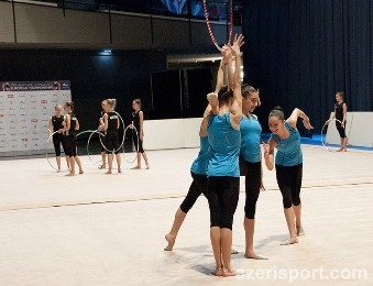 An Azerbaijani junior group team takes the 4th place at the European Championships in Vienna (supplemented)