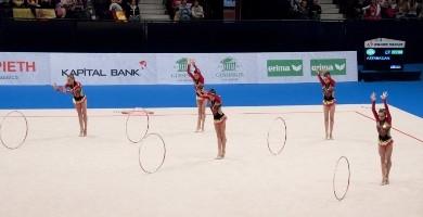Azerbaijani gymnasts win the European Championships' silver medal