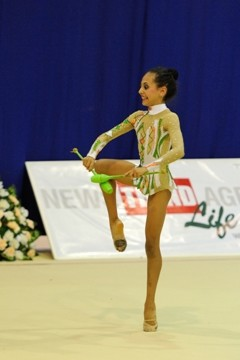 Azerbaijani gymnasts win the gold and silver medals in Kazakhstan