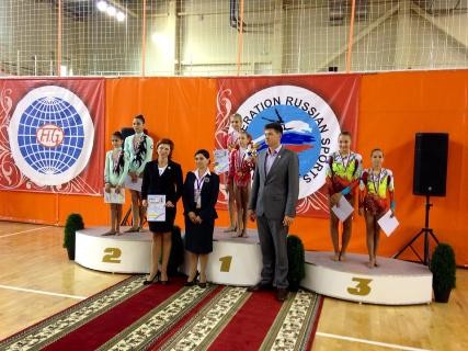 AZERBAIJANI ACROBATS - ARE THE SILVER AND BRONZE MEDALISTS OF THE TOURNAMENT IN RUSSIA