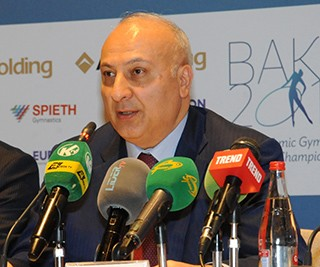 Altay Hasanov: The National Gymnastics Arena has all the necessary conditions