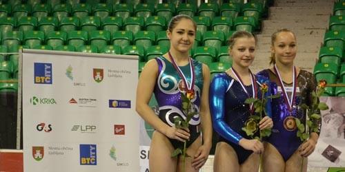 Anna Pavlova Sloveniyada keçirilmiş idman gimnastikası üzrə Dünya Kubokun qalibi olub