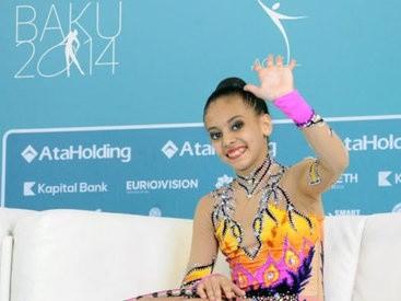 Gimnast Jalə Piriyeva Bakıda keçirilən Avropa çempionatında gümüş medal qazandı