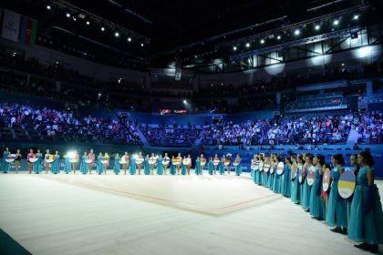 Ukrayna KİV-ləri Bakıdakı Milli Gimnastika Arenasını yüksək qiymətləndirmişdir