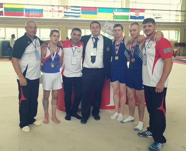 Azərbaycan gimnastları Gürcüstanda keçirilən turnirin qalibi olublar