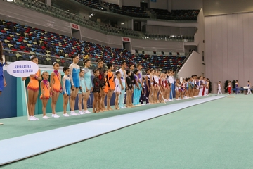 Sports festival at the National Gymnastics Arena
