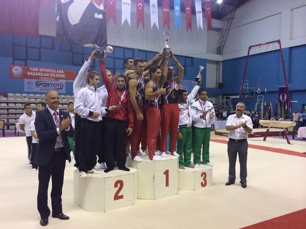 Azərbaycan gimnastları Türkiyədən 17 medalla qayıtdılar