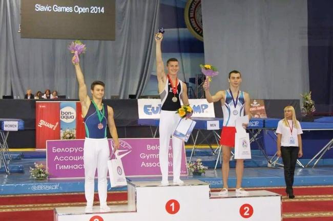 Azərbaycanın batut üzrə gimnastı Minskdən gümüş medal gətirdi