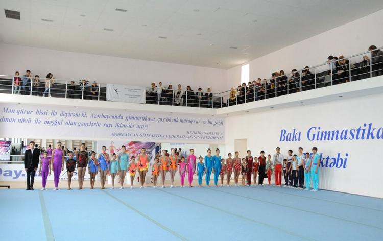 Bakıda akrobatika üzrə Azərbaycan Birinciliyi yekunlaşıb